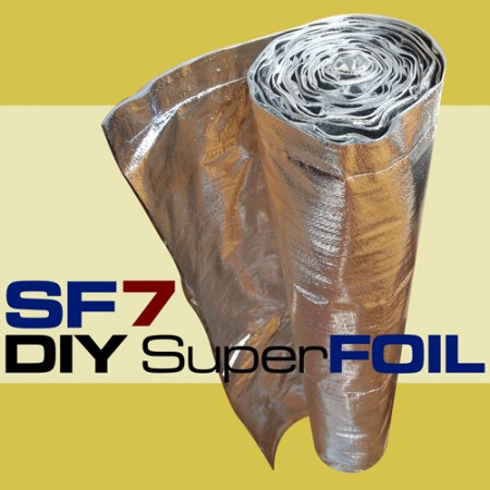 37 5sqm Roll Sftv Superfoil Multi Foil Reflective