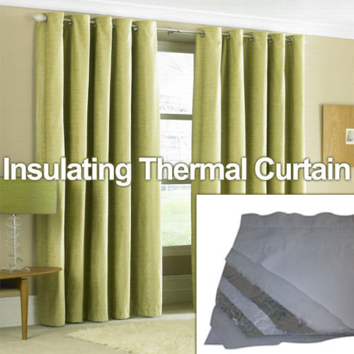 THERMAL CURTAIN LINER 1.5M WIDE HIGH PERFORMANCE MULTIFOIL 8 LAYER  INSULATION