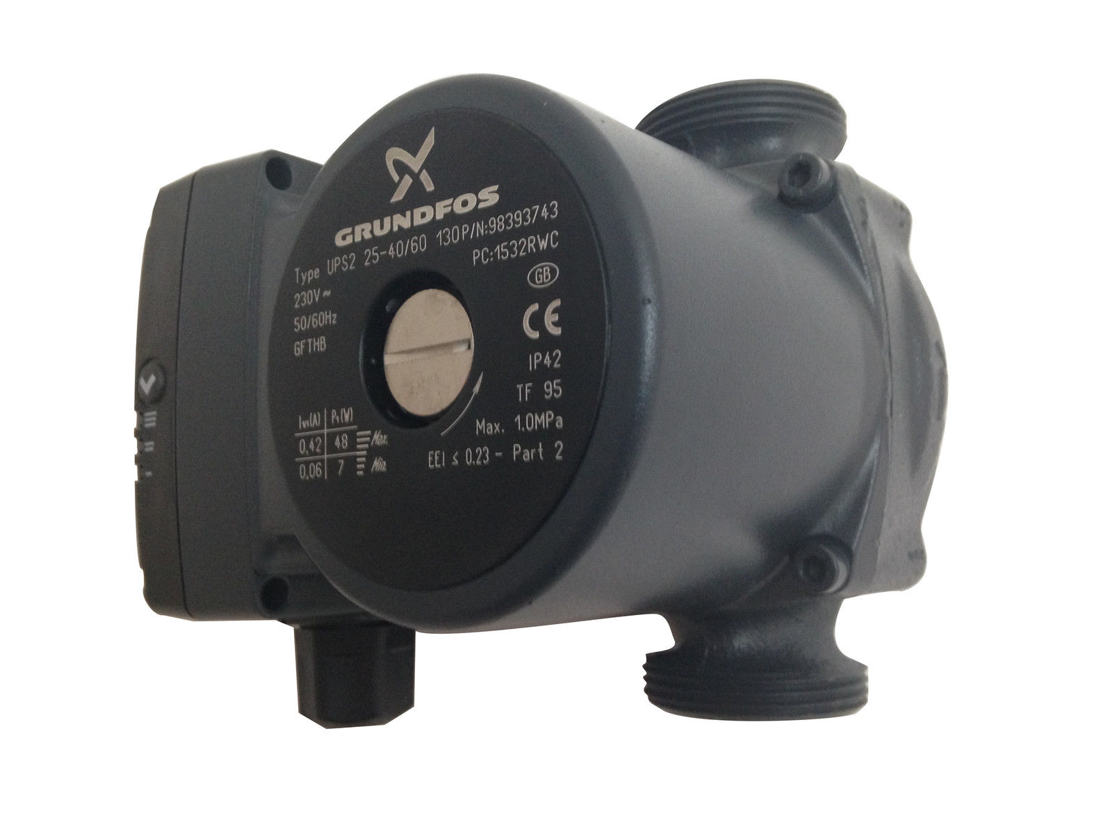 grundfos ups2 pump replacement spare part for hot cold plumbing services ebay. Black Bedroom Furniture Sets. Home Design Ideas